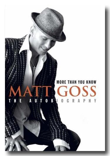 Matt Goss: More Than You Know book cover