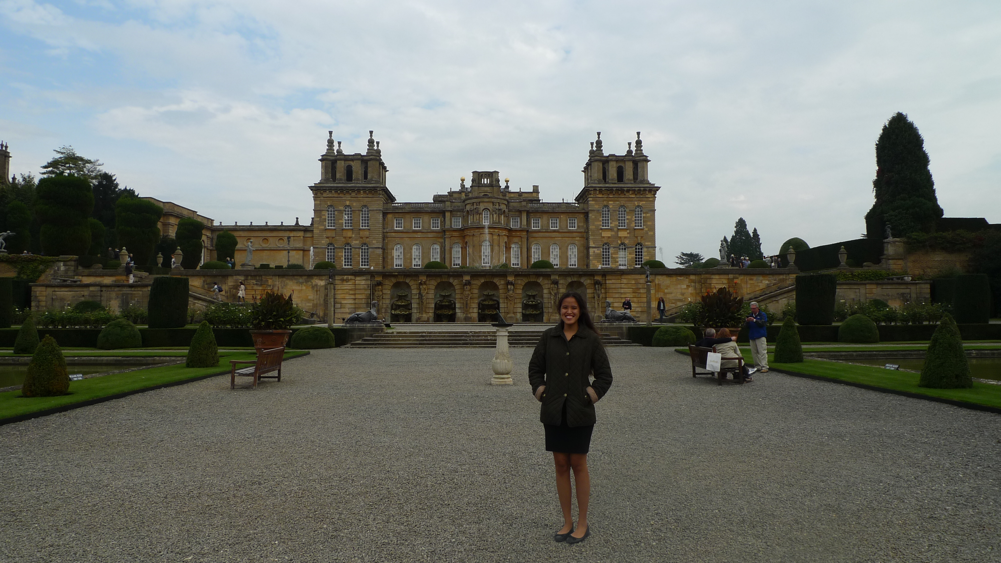 In Blenheim Palace (Oxfordshire)