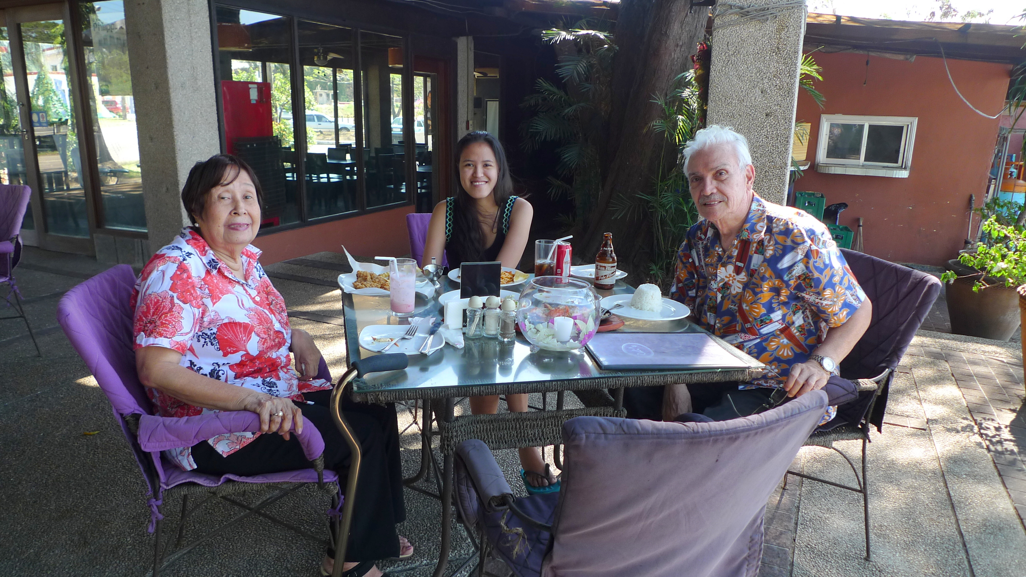 NYE lunch with Lolo and Lola in Subic