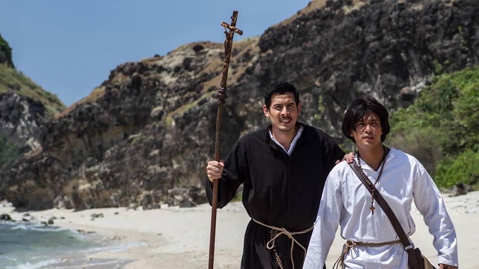 Fr. Diego San Vitores (Christian Vazquez) and Pedro Calungsod (Rocco Nacino)dro-Calungsod1