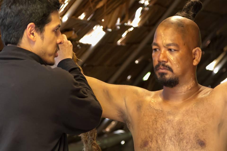 Robert Correa as Hirao - a Chamorro chieftain