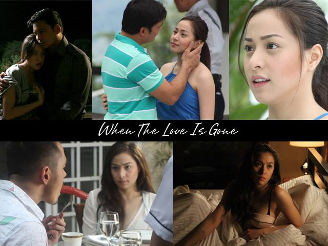 "Scenes of Cristine Reyes as Cassie in ""When the Love is Gone"""