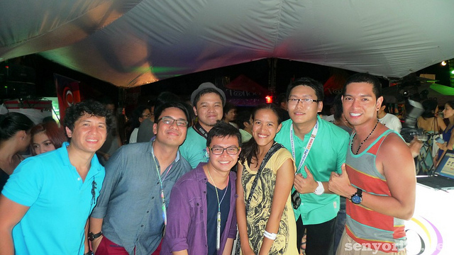 Party Time sa Boracay with the Globe Team (April 2012)