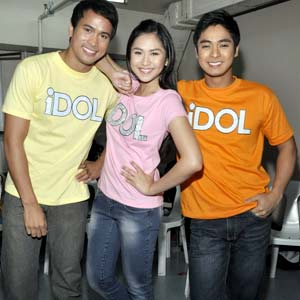 Sam Milby, Sarah Geronimo and Coco Martin in '1DOL'