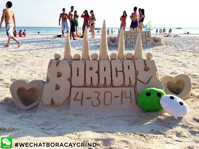 WeChat in Boracay for LABORacay!