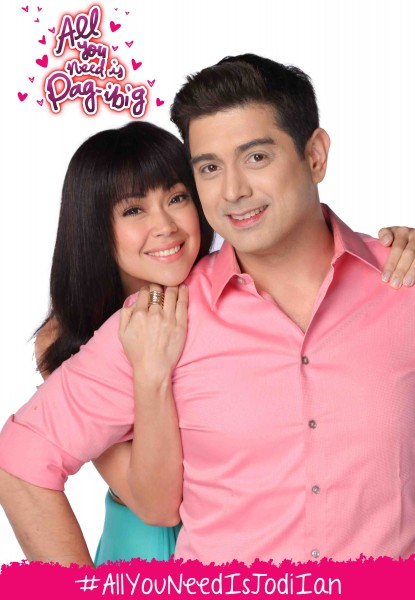 Jodi Sta. Maria and Ian Veneracion (JODIAN) in 'All You Need Is Pag-Ibig'
