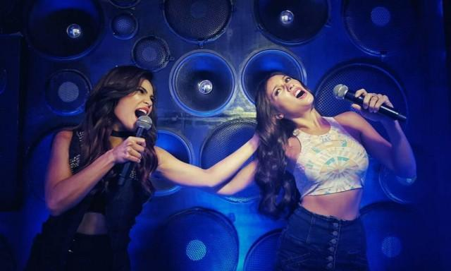 Lovi Poe and Solenn Heussaff in Lip Sync Battle Philippines