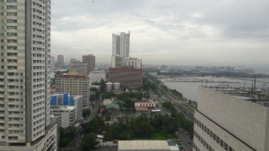 View of Manila from Diamond Hotel